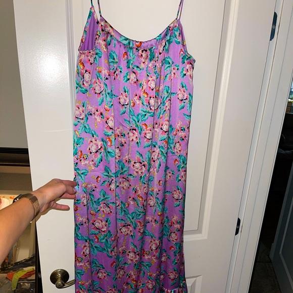 Asos violet dress